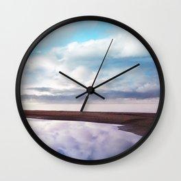 Pastel vibes 71 Wall Clock