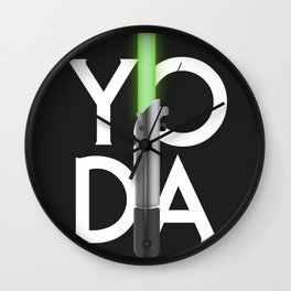 Yoda's Lightsaber Wall Clock