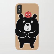 Apple Bear Slim Case iPhone X