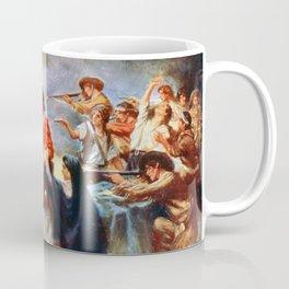Battle of the Alamo by Percy Moran (1912) Coffee Mug