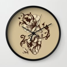 Listen to Your Heart Wall Clock