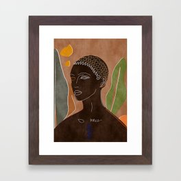 Traveler Framed Art Print