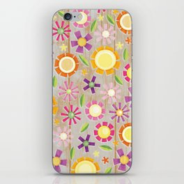 Camp Floral iPhone Skin