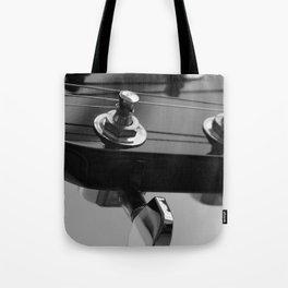 Guitar Head Tote Bag