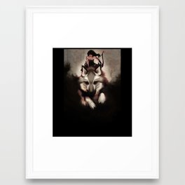Inanna Framed Art Print