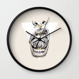 TELL ME TO SMILE IV Wall Clock
