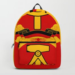Emblem of East Germany National People's Army, 1956-1990 Backpack