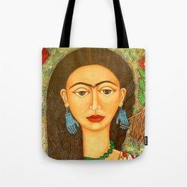 My homage to Frida Tote Bag