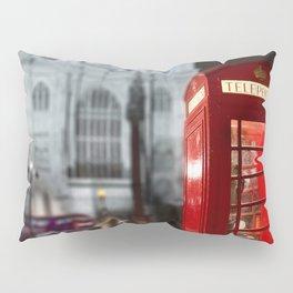 London Phone Booth Pillow Sham