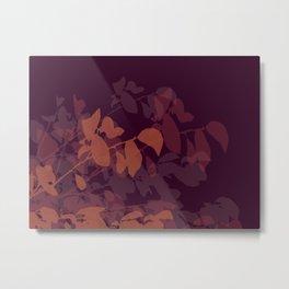 Plumberry Mood Metal Print