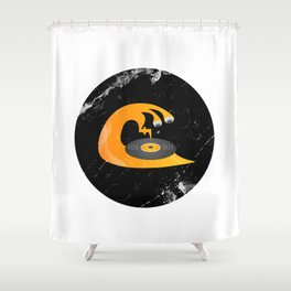Self Musicated Shower Curtain