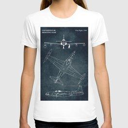 LOCKHEED P-80 - First flight 1944 T-shirt