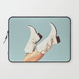 These Boots - Blue Laptop Sleeve