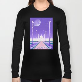 Visit the Moon Kingdom / Sailor Moon Long Sleeve T-shirt