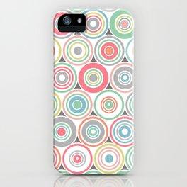 Concentric Circles iPhone Case