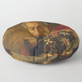 Sir Ian McKellen - replaceface Floor Pillow