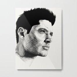 Jensen Ackles Metal Print