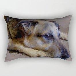 Old Friend Rectangular Pillow