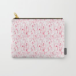 ELLAS SON COMO LAS FLORES DEL CEREZO IGUAL AL HAIKU Carry-All Pouch