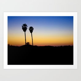 Hopped off the plane at LAX Art Print