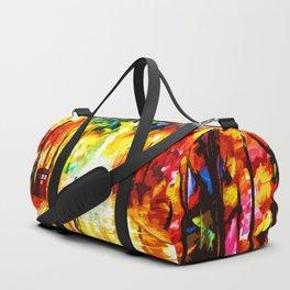 Tardis Light On Street Duffle Bag