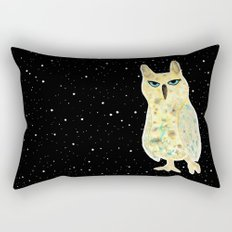 Intergalactic owl Rectangular Pillow