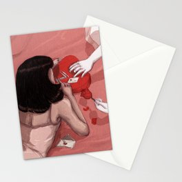 Love and cocaine Stationery Cards