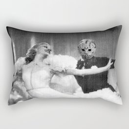 Jason Vorhees as Fred Astaire Rectangular Pillow
