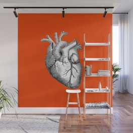 Hearty Red Wall Mural