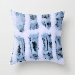Snow Pattern Throw Pillow