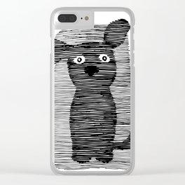 Cute puppy. Clear iPhone Case
