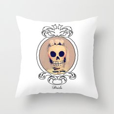 Dia de los Muertas Novia Throw Pillow