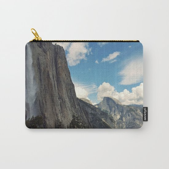 Mountains #clouds Carry-All Pouch