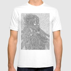The Orc White Mens Fitted Tee MEDIUM