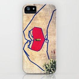 Love (edited) iPhone Case