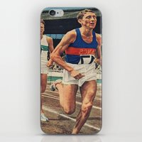 running iPhone & iPod Skins featuring Running by Alex