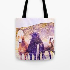 Horses - Magical Spirit Animal Tote Bag
