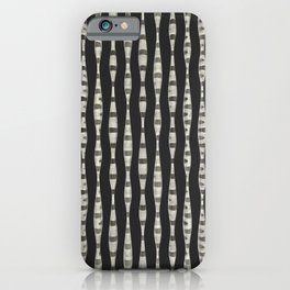 Curved Lines iPhone Case