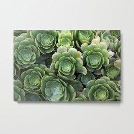 Green wild textures Metal Print