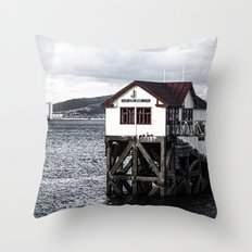 The Old Boathouse. Throw Pillow