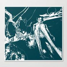 A dark prince Canvas Print