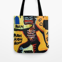 Homage to Basquit New York King Tote Bag