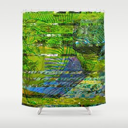 Landscape of My Heart (segment 4) Shower Curtain