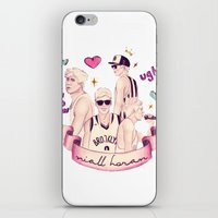 niall horan iPhone & iPod Skins featuring niall horan by Inflomora