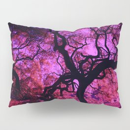 Under the Tree in Pink and Purple Pillow Sham