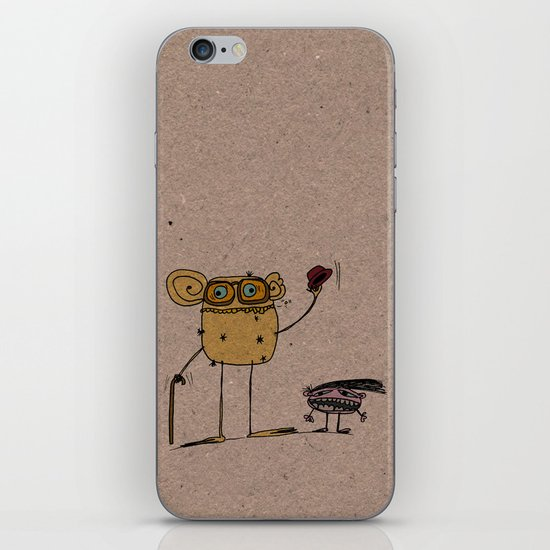 - thinking about family - iPhone & iPod Skin