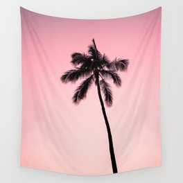 palm tree ver.pink Wall Tapestry