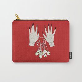 Creepy Hands Holding Eyes Carry-All Pouch