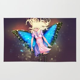 Butterfly Alice Rug