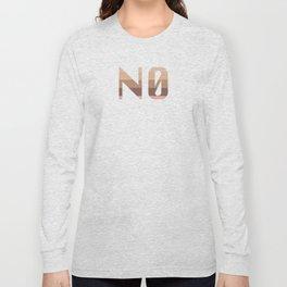 No Nudes Long Sleeve T-shirt